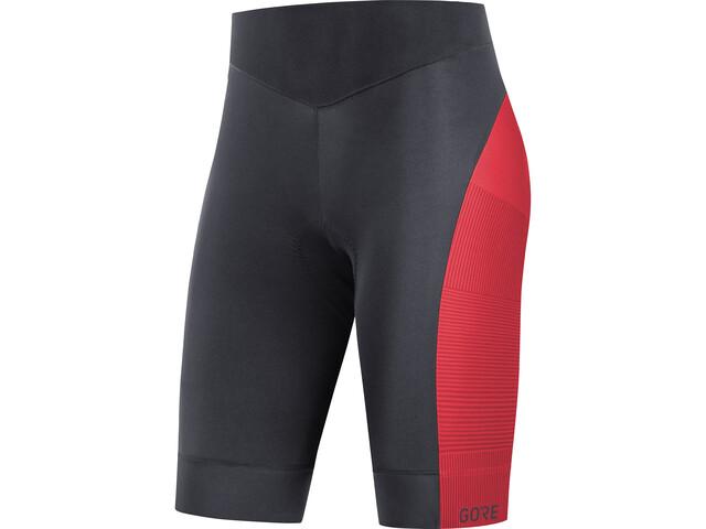 GORE WEAR C3+ Line Short Tights Women black/hibiscus pink
